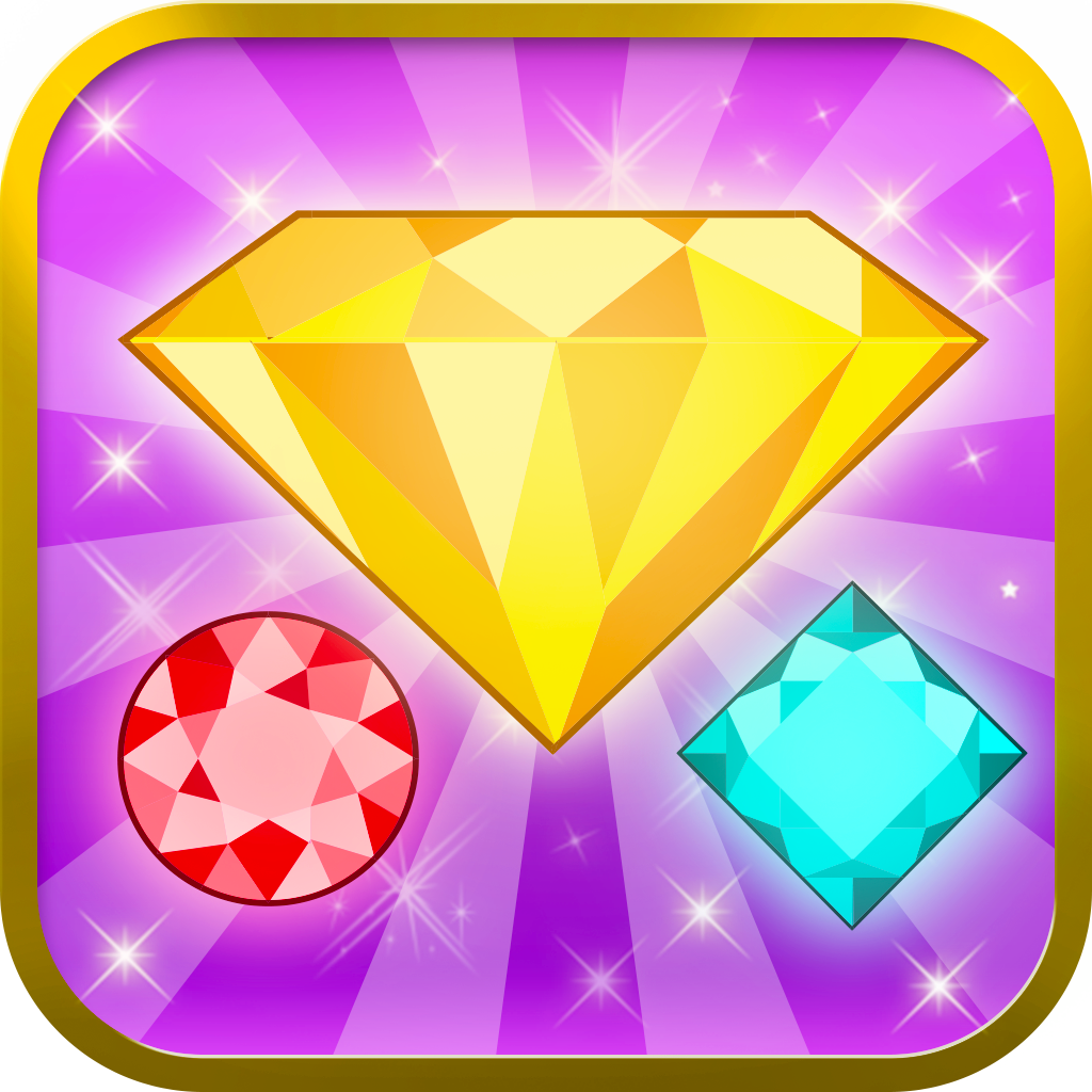 Gem Match Mania - Blast a Jewel Puzzle Game of Diamonds